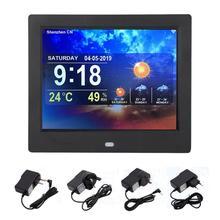 8 pouces multi-fonction Smart WiFi numérique cadre Photo horloge météo prévision TFT 43 écran