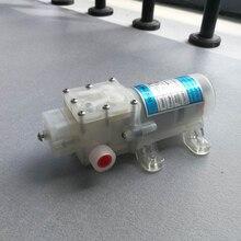 Pompe à eau à diaphragme auto-amortissant 12V 70W   De qualité alimentaire, pompe à eau avec interrupteur, pompe à diaphragme auto-amortissante 6L/Min