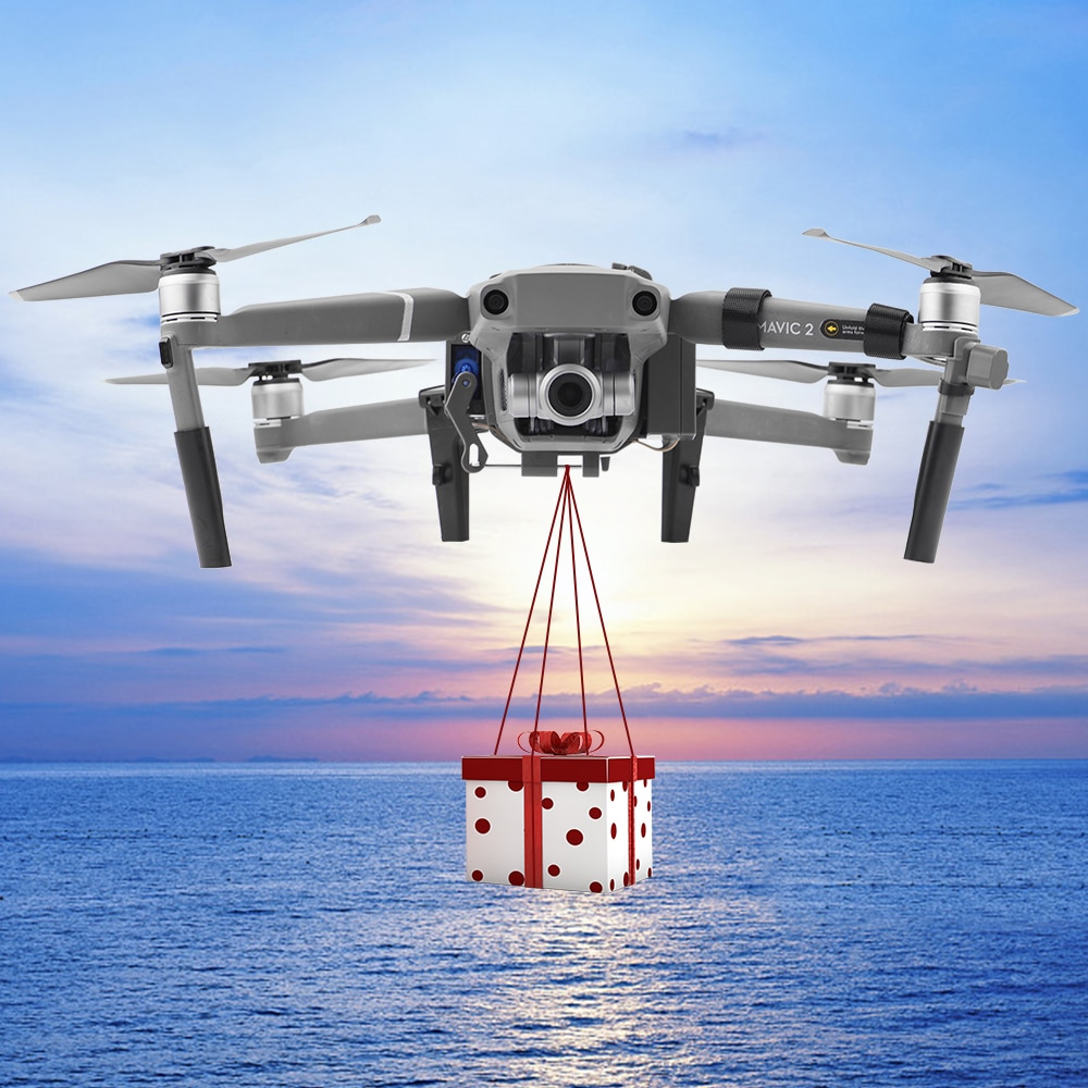 1 Set Professional Wedding Proposal Delivery Device Dispenser Thrower Drone Air Dropping Transport Gift For DJI Mavic 2 Pro/Zoom enlarge