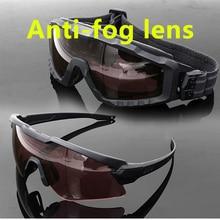 SI M ALPHA Anti-fog Ski sunglasses cycling sun military goggles  Army tactical glasses Men shooting