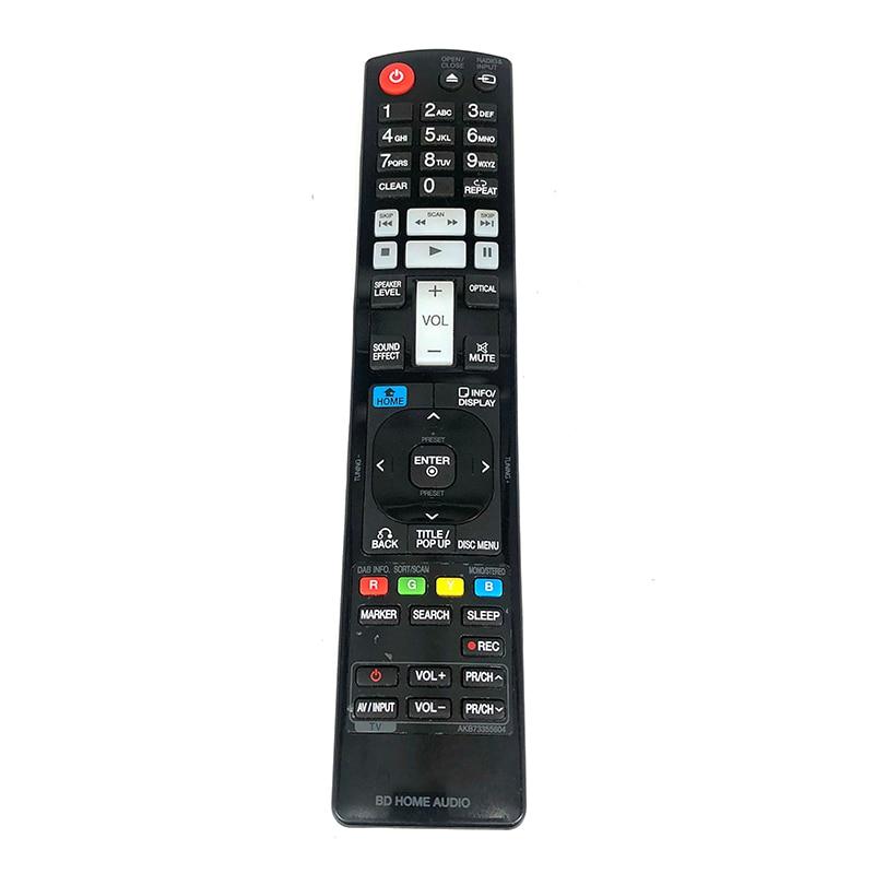 Used GENUINE LG REMOTE CONTROL AKB73355604 BD HOME AUDIO