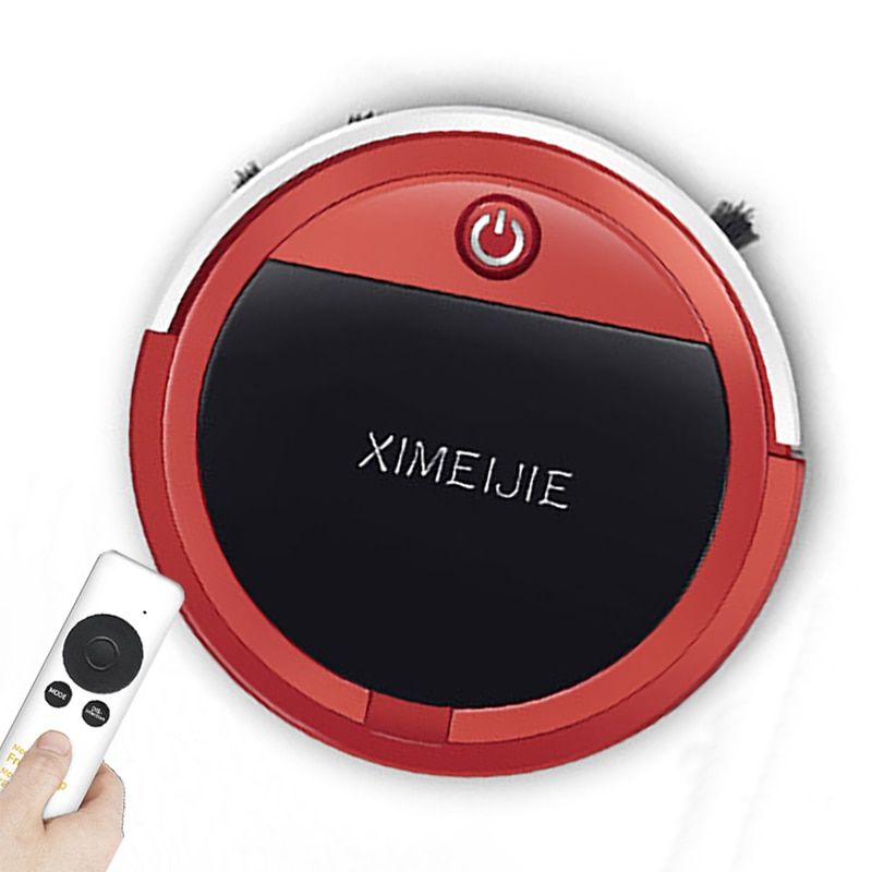 Automatic Robot Vacuum Cleaner with Remote Control Smart Vacuum Cleaner for home Ultra-thin Dry and Wep Cleaner Route Planning