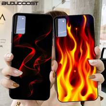 Cool flame  Phone Case for Samsung S6 S7 edge S8 S9 S20 S21 S30plus ultra S21/S30 S10-5G lite 2020 S