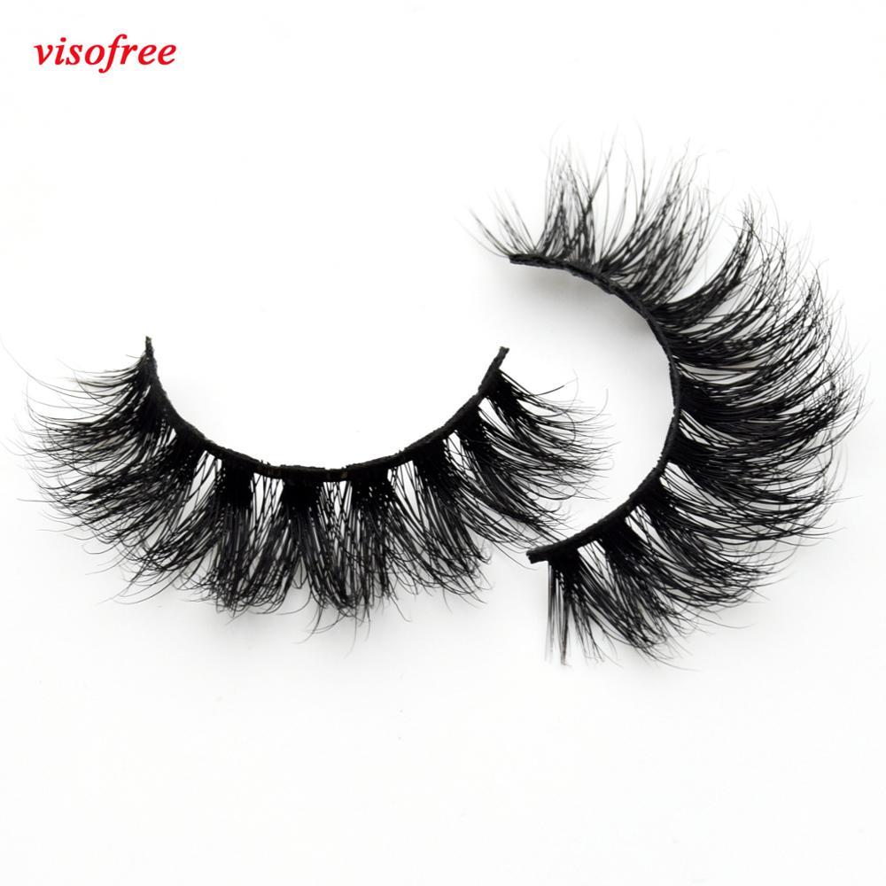 AliExpress - Visofree Thick Eyes Lashes Hand Make Fake Eyelashes Dramatic Volume False-eyelashes 3D Lashes Cilios Mink for Makeup Tools D110