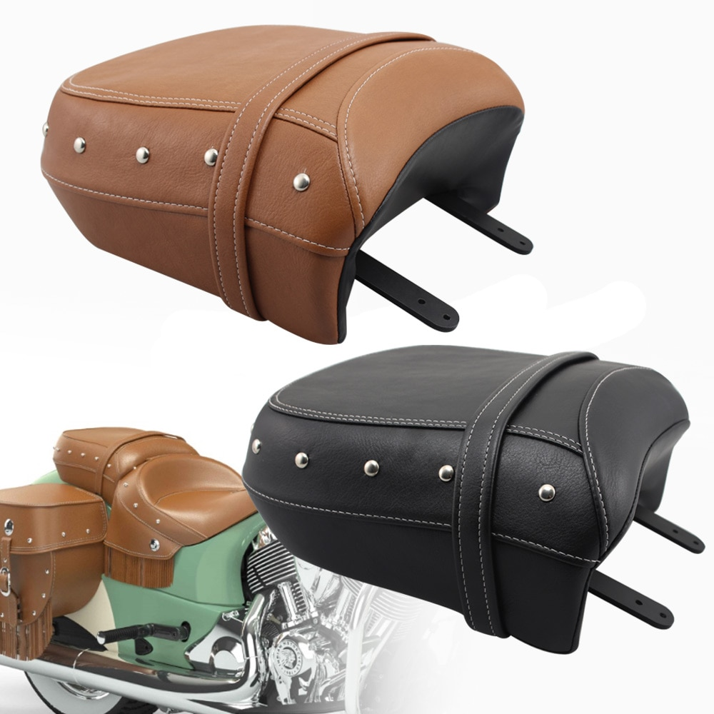 Para el jefe indio oscuro clásico caballo Vintage jefe 14-Springfield, 16-pasajero trasero de asiento negro cuero marrón