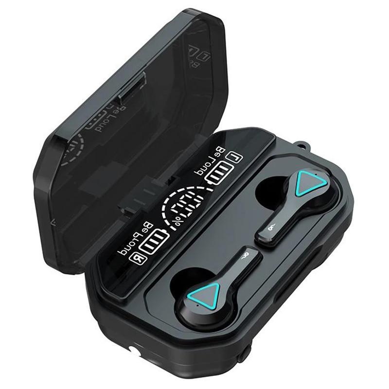 Auriculares estéreo con Bluetooth 5,1 cascos con pantalla Led y linternas IPX7......