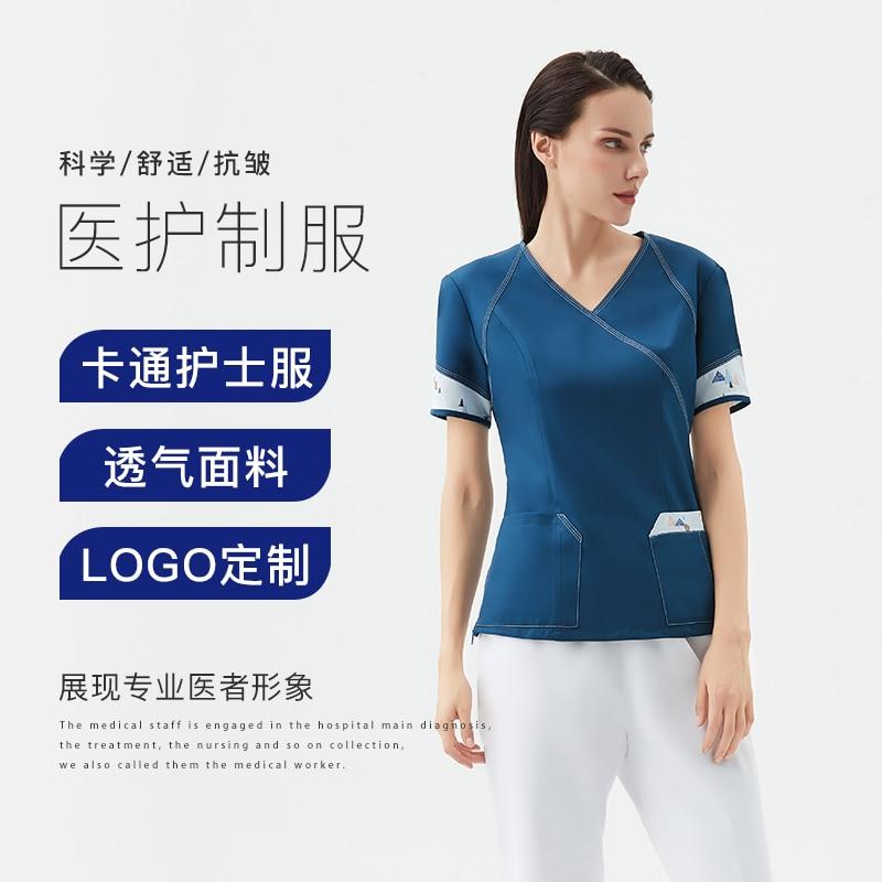 Медицинская Униформа унисекс, рабочая одежда для стоматологии, врачей и хирургов