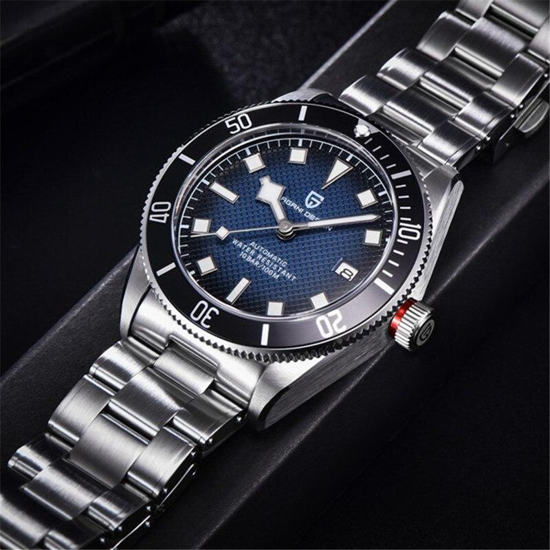 Mecânico para Homem Relógio de Aço Novo Design Pagani Relógios Masculinos Relógio Esporte Inoxidável Masculino 1671 2021 Bb58