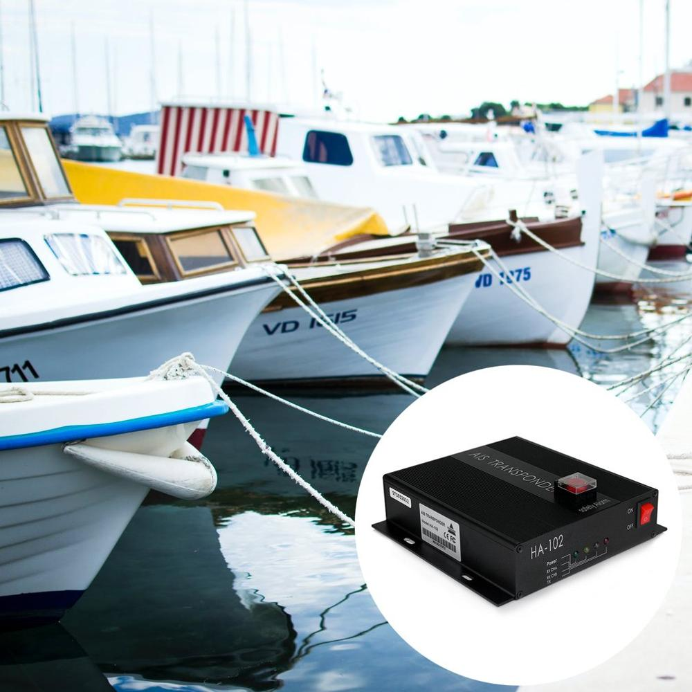Low Price Matsutec HA-102 Marine AIS receiver and transmitter system CLASS B AIS Transponder Dual Channel Function CSTDMA Functi enlarge