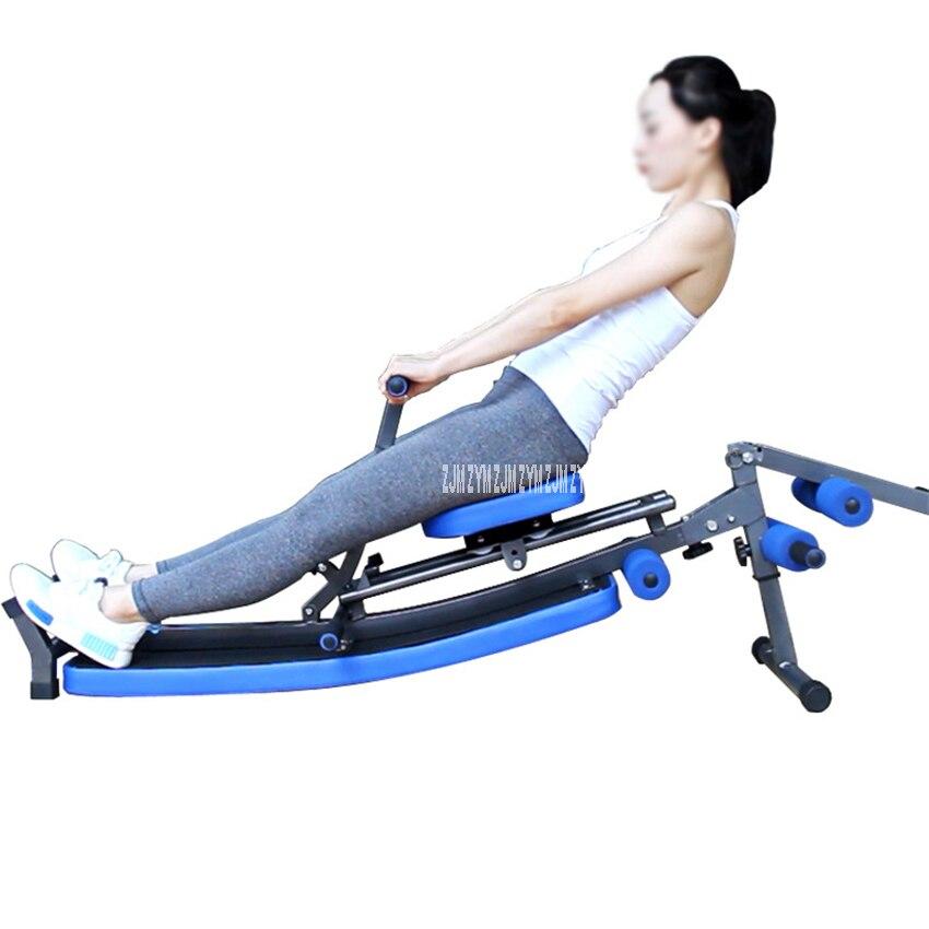 De Banco plegable supina Junta multifuncional taburete con mancuernas BANCO DE crujido silla Ab máquina de remo equipo de entrenamiento interior