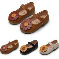new baby girls shoes kids soft bottom flower princess shoes little girls chaussure fille childrens single shoes 1 2 3 4 5 6 7t