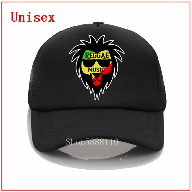 Gorras de béisbol de verano música Reggae jamaica magnífico León rasta Rojo Dorado y verde bandera culturismo sombrero hombres y mujeres Fitness cap
