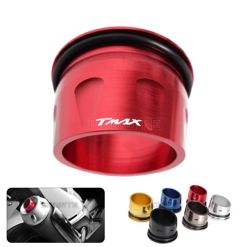 For Yamaha T-max 530 T MAX TMAX 500 2012-2016 Custom CNC Aluminum Motorcycle pipe muffler Exhaust Tip Cover