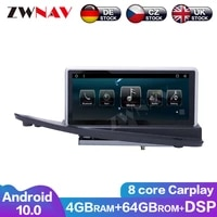 464g android 10 car multimedia player for volvo s80 2004 2011 car radio gps navigation audio video stereo player head unit dsp
