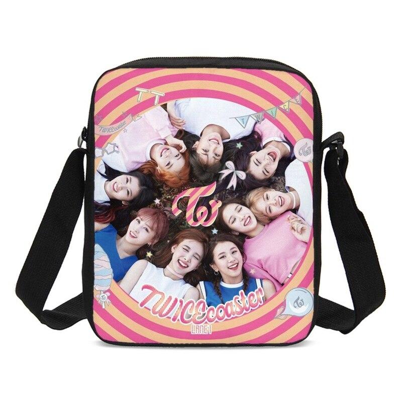Mini bolsas De Viaje para chicas dos veces Kpop cubitos bolsas De...