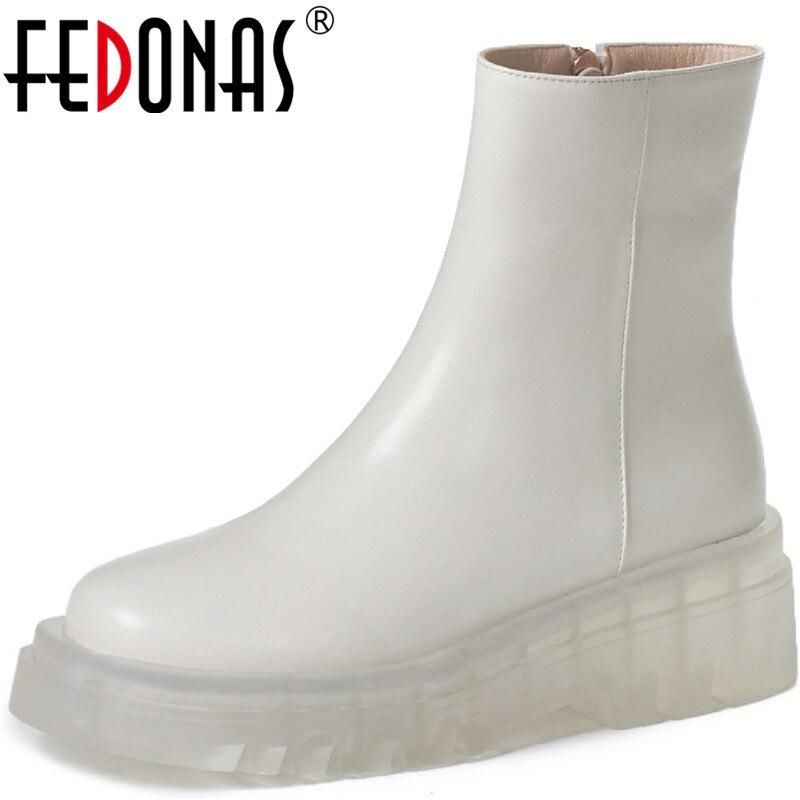 أحذية FEDONAS ، جلد ، كعب عالي ، للنساء, أحذية زفاف كلاسيكية بسحاب جانبي ، أحذية للنساء ، جلد طبيعي ، الكعب العالي ، أحذية موسم الشتاء