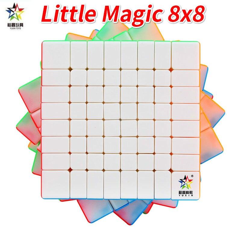 Yuxin 8x8 маленький магический безклейкий zhisheng 8x8x8Layer Профессиональный Zhisheng cubeголоволомка 8x8x8 подарок для детей Головоломки      АлиЭкспресс