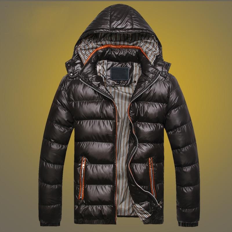 Бренд BOLUBAO, мужские Модные парки, мужские уличные трендовые куртки, зимняя новая теплая однотонная парка с капюшоном, мужские пальто