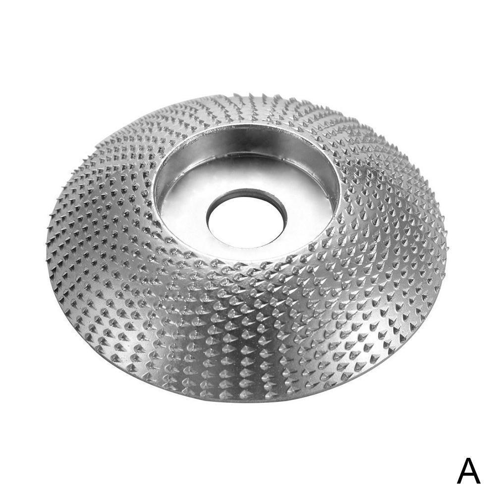 Disco abrasivo para ângulo moedor de carboneto de tungstênio revestimento moldar ângulo furo moagem escultura ferramenta madeira roda lixamento rotativo h7u0