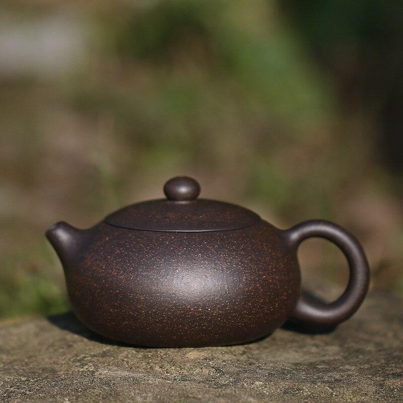 إبريق شاي Yixing 200 مللي زيشا شي إبريق شاي غلاية يدوية مع صندوق هدايا