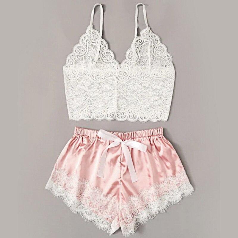 2021 Для женщин сексуальный бюстгальтер Женские пикантные удобные пижамы из полиэстера нижнее белье топы Бриджи комплект Lenceria Biquini|Комплекты нижнего белья|   | АлиЭкспресс
