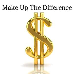 Dollar Shipment Freight Link/Make Up The Difference/Up Freight /Price Difference /Additional Charges Please Pay Here