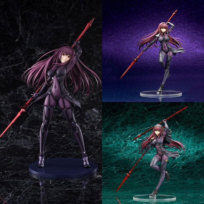 Fate/Grand Order Scathach Anime Action Figure Servant PVC 1 2 3 Generation Master Master Collection Model Dolls Toys for Gifts japan anime fate grand order original banpresto exq collection figure ruler malta