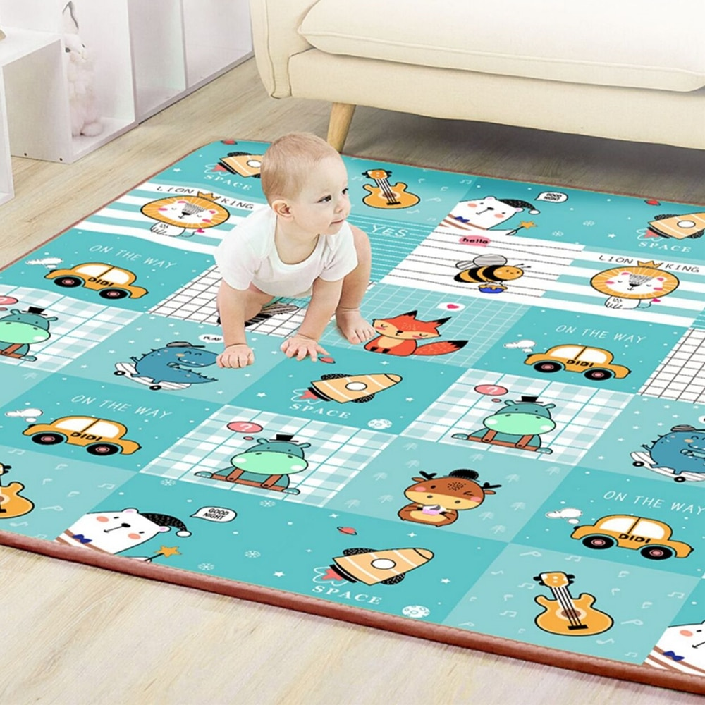 baby developing mat for newborn non toxic soft xpe foam baby climbing pad foldable activity gym for children playground kids rug Thicken XPE Baby Play Mat Toys for Children Rug Playmat Developing Mat Baby Room Crawling Pad Folding Mat Baby Carpet Non-toxic