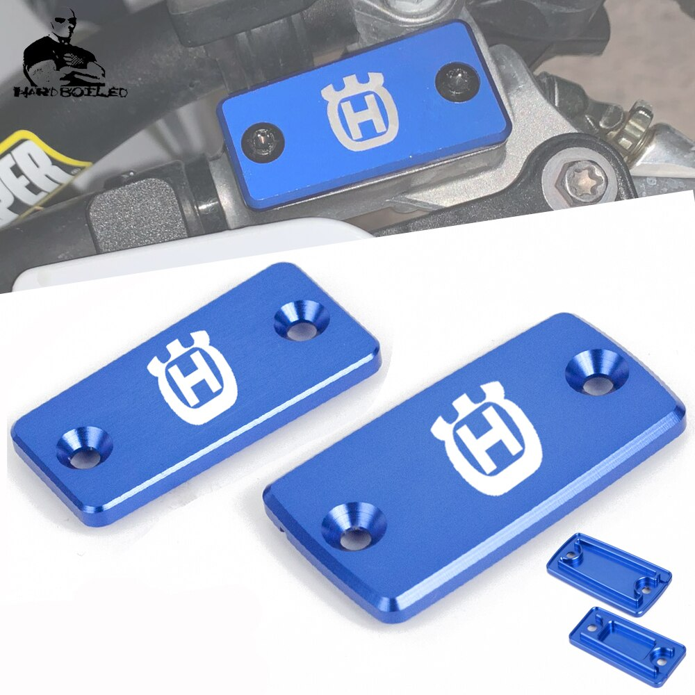 Aluminio CNC de depósito de líquido de frenos delantero tapa para Husqvarna TE 300 TE250 TE300 TX300 2018 2019 TE310I 2019, 2020