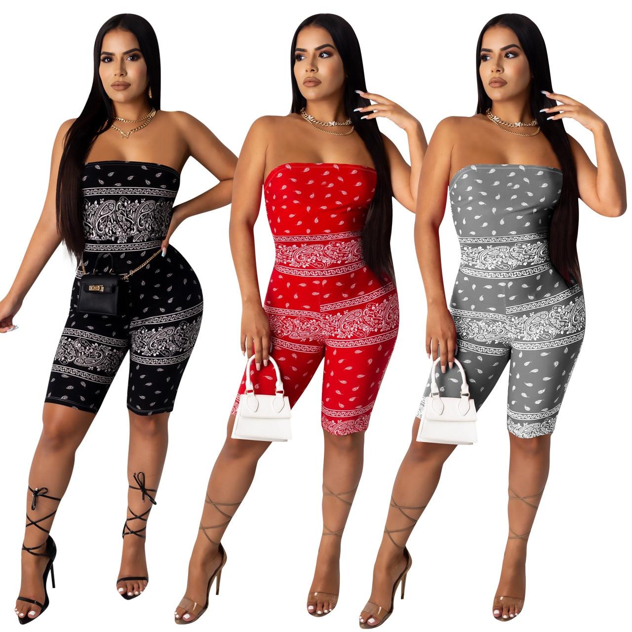 Jumpsuit Moda Feminina Summer Women Rompers Body Romper Fashion Playsuit Ropa Sexy Mono Corto Mujer