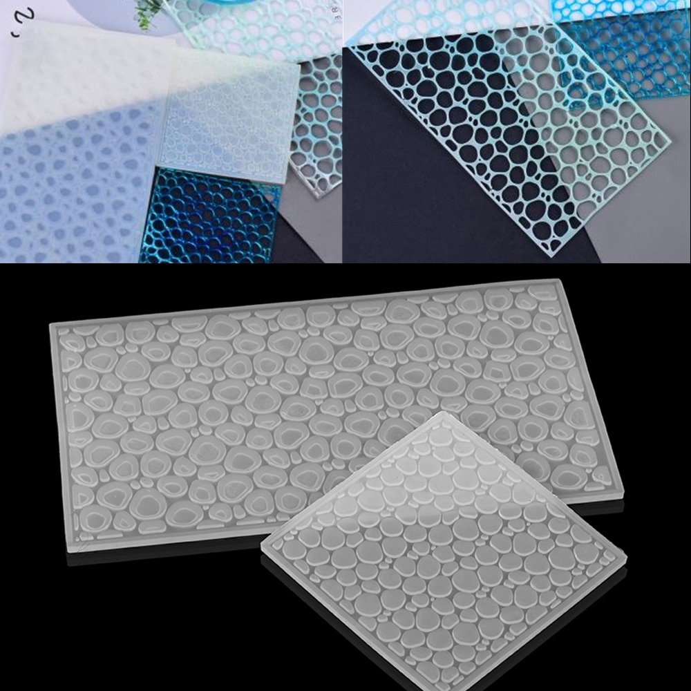 Crystal Water Wave Epoxy Resin Molds Ocean Wind Decor Casting Mold Silicone For DIY Jewelry Making