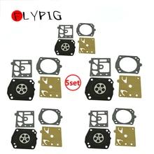FLYPIG 5PCS Vergaser Carb Rebuild Kit Für Stihl 027 028 MS290 MS390 Husqvarna 362 365 371