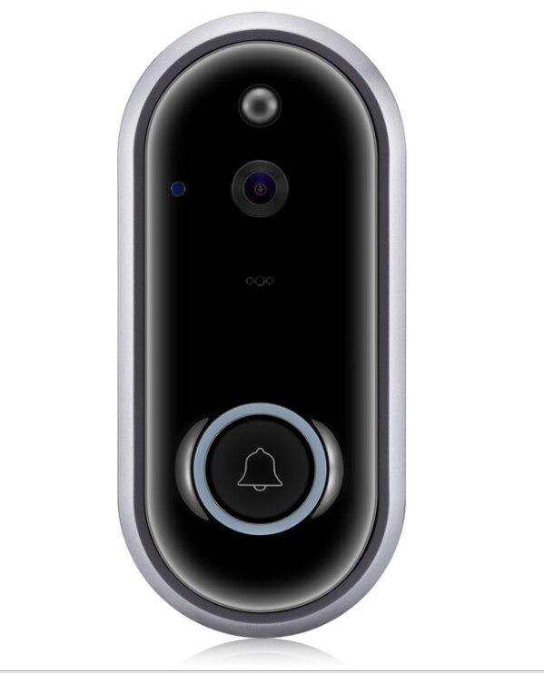 جرس باب ذكي WIFI فيديو فيديو هاتف إنتركم للباب جرس الباب كاميرا جرس الباب WIFI الأشعة تحت الحمراء للتسجيل كاميرا أمان لاسلكية