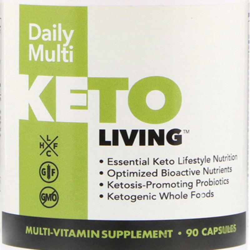 Supplement multiple nutrients daily to promote ketogenic probiotics 90 cap sules