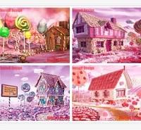 Broderie de diamants colores 3d  images de strass  bricolage  kit dart  maison douce  decoration de maison