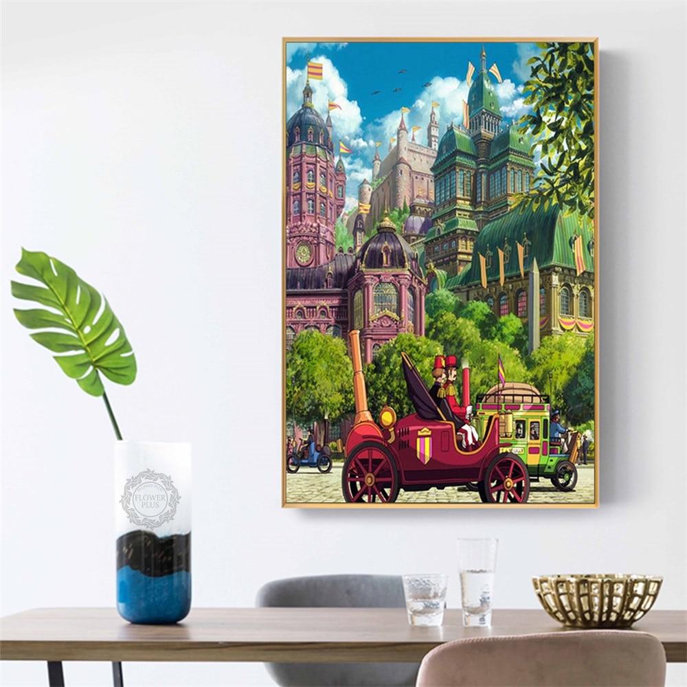 Poster und Drucke Studio Ghibli Tribut Totoro Animation Poster Leinwand Malerei Wand Kunst Bild Home Dekorative quadro cuadros