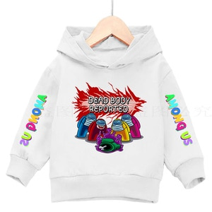 Hoodies For Teens Girls Cute  Impostor Boys Clothes Sweatshirt Long Sleeve Toddler Sudadera Au Funny Video Games cotton Among Us