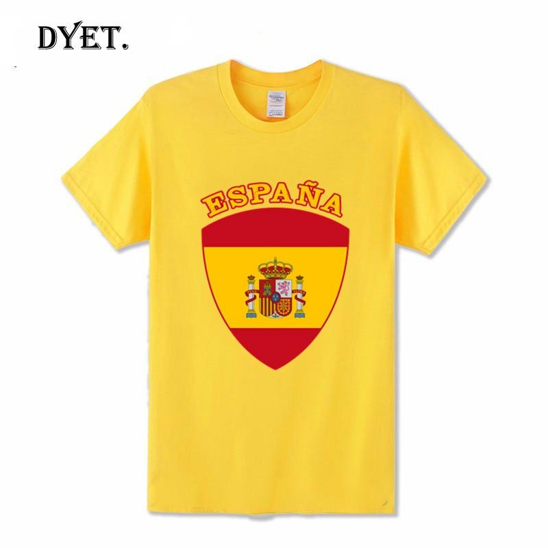 Camiseta de manga corta para hombre, camisa de España, español, ESP, La...