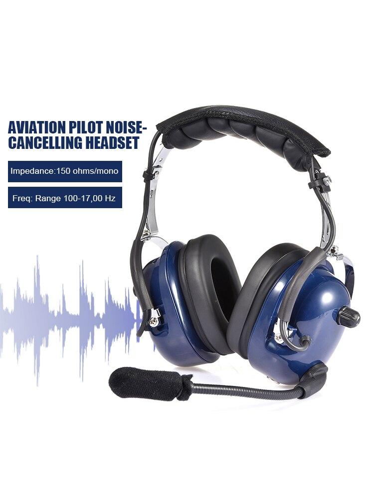Fone de Ouvido Entrada com Conforto Selos da Orelha Aviação Piloto Redução Ruído Dupla Plugues Mp3 Música ga