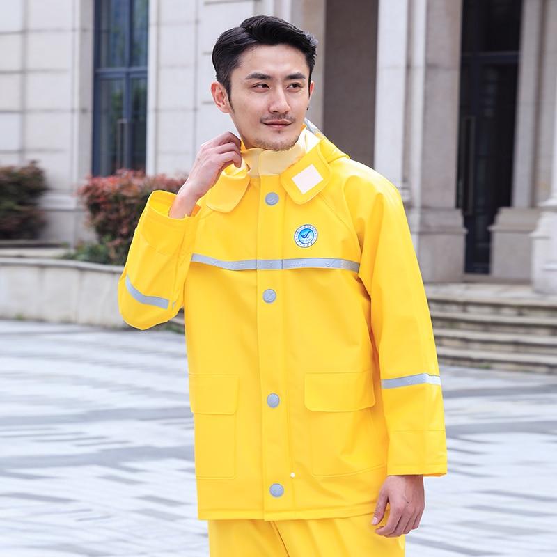 Travel Outdoors Waterproof Pants Raincoat Jacket Fishing Adult Electric Motorcycle Rain Coat Men Impermeables Rain Suit BW50YY enlarge