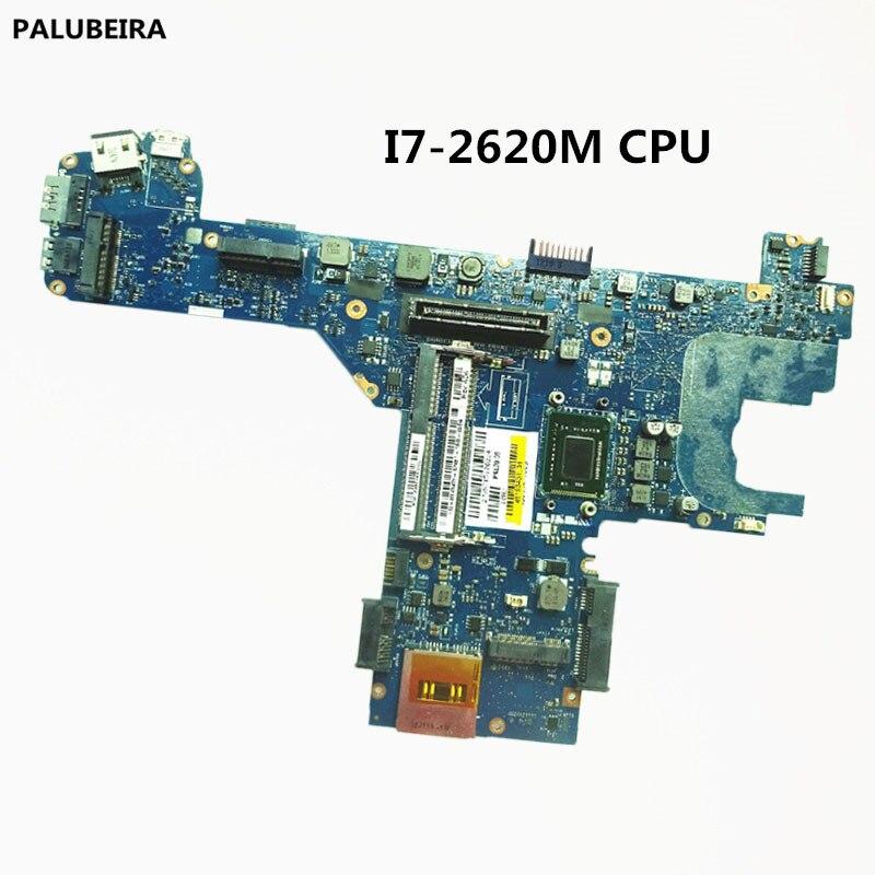 Placa base para ordenador portátil PALUBEIRA con I7-2620M CPU para DELL Latitude E6320 Y45W5 0Y45W5 CN-0Y45W5 PAL70 LA-6611P probado