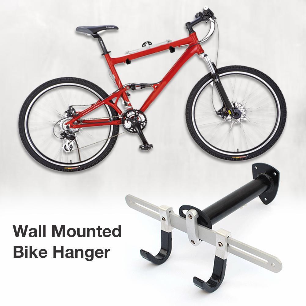 Percha para bicicleta de HobbyLane, sistema de almacenamiento de percha para bicicleta montado en la pared, gancho Vertical