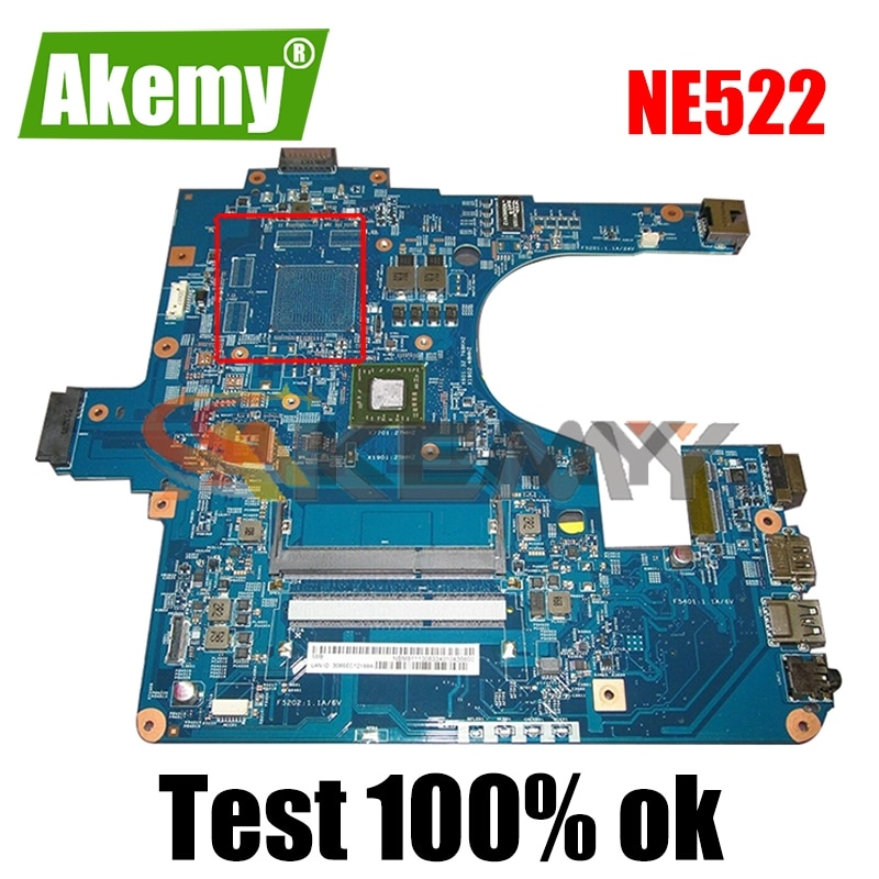 AKEMY NB.M8111.00K NBM811100K اللوحة الرئيسية لبوابة NE522 NE52209U اللوحة الأم للكمبيوتر المحمول 1.5Ghz وحدة المعالجة المركزية DDR3