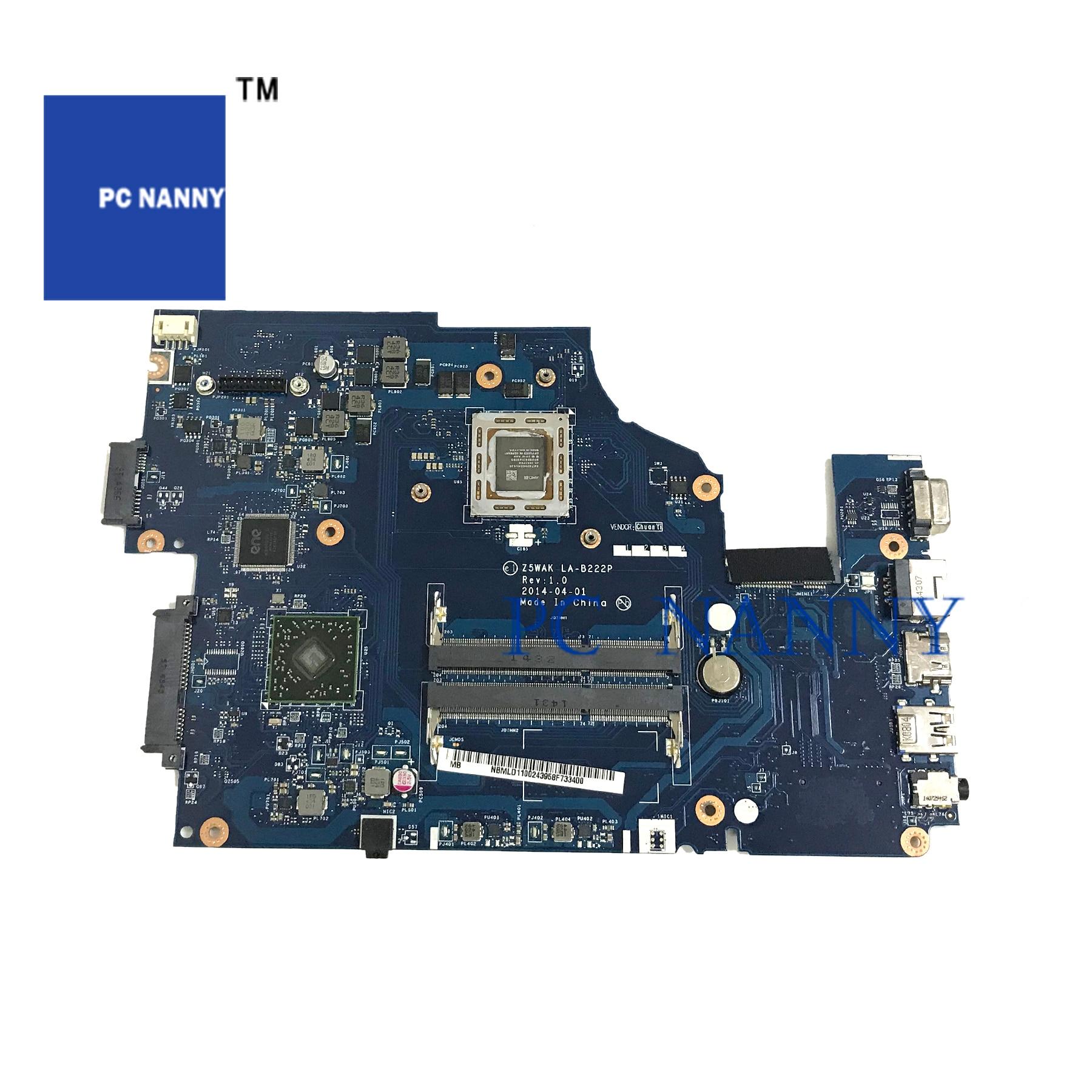 PC مربية ل أيسر أسباير أيسر E5-551 اللوحة المحمول NBMLD11002 A10-7300 NBMLD11002 ملحوظة. MLD11.002 LA-B222P اختبار