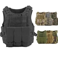 outdoor hunting shooting tactical vests military tactical amphibious camouflage module army combat protection vest