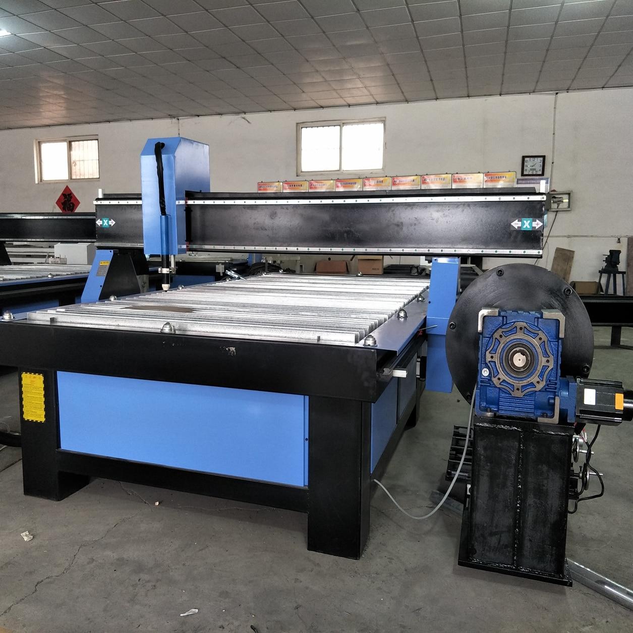 Coupeur de Plasma du coût bas 100A/découpeuse 1325/1530 de Plasma de Table de CNC de tôle pour lacier/aluminium