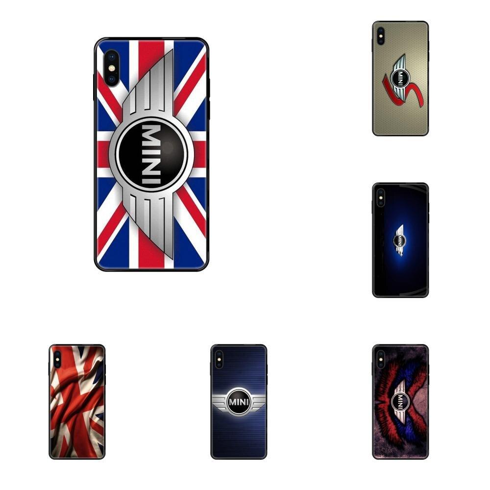 De silicona suave TPU Arte Negro caso de la cubierta para iPhone 11 12 Pro 5 5S SE 5C 6 6S 7 7 8X10 XR XS Plus Max Cooper rayas