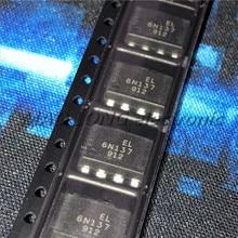 10 pièces/lot 6N137S SOP8 6N137SD EL6N137S SOP 6N137 SOP-8 SMD nouveau et original IC haute vitesse isolé optocoupleur sortie logique
