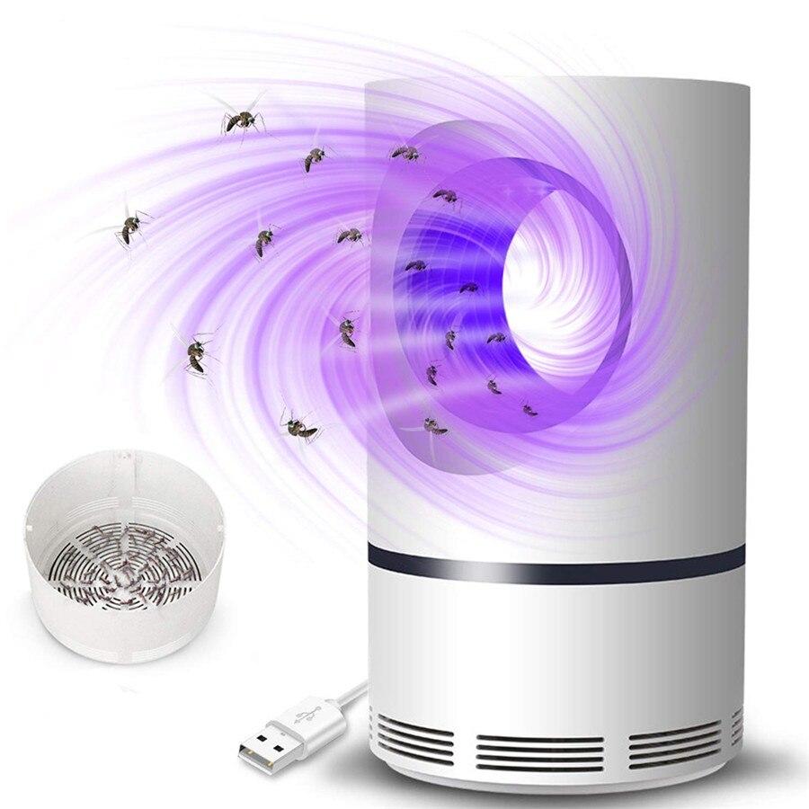 Mata UV FÜHRTE Moskito Mörder Lampe USB Elektrische Kein Lärm Keine Strahlung Insekten Mörder Fliegen Falle Lampe Anti Moskito Lampe