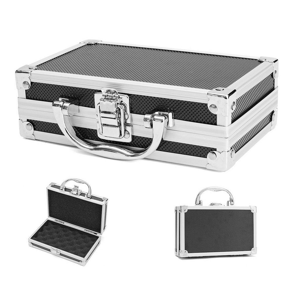 Portable Aluminum Suitcase Tool Box equipment Toolbox Instrument box Storage Case Suitcase Impact Resistant Case With Sponge